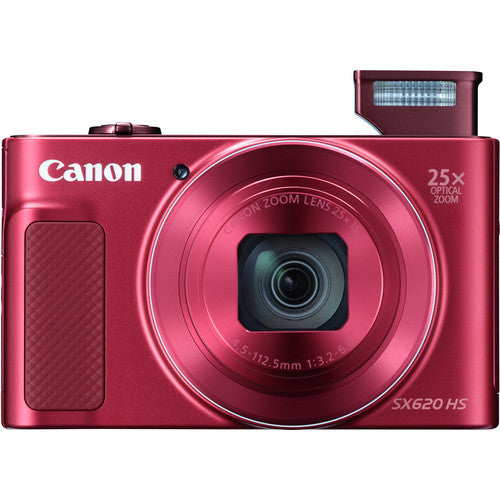Canon PowerShot SX620 HS Digital Camera - Red