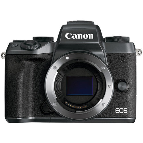 Canon EOS M5 Mirrorless Digital Camera with 15-45mm Lens - Hashtechguy