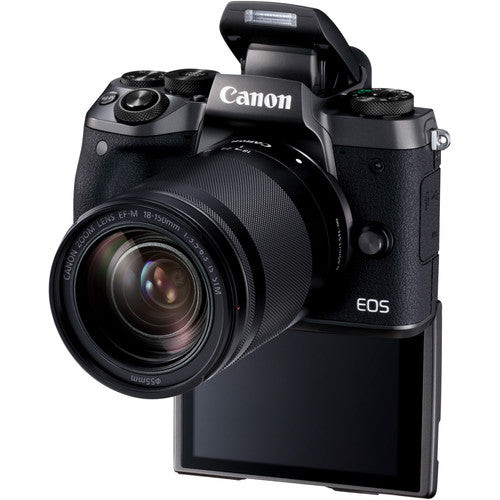 Canon EOS M5 Mirrorless Digital Camera with 18-150mm Lens - Hashtechguy