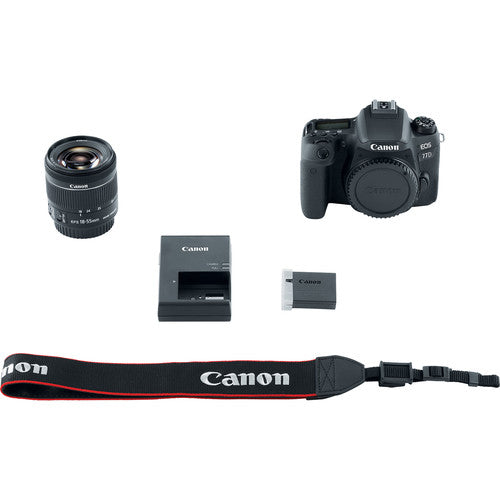 Canon EOS 77D DSLR Camera with 18-55mm Lens - Hashtechguy