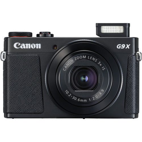 Canon PowerShot G9 X Mark II Digital Camera - Black - Hashtechguy