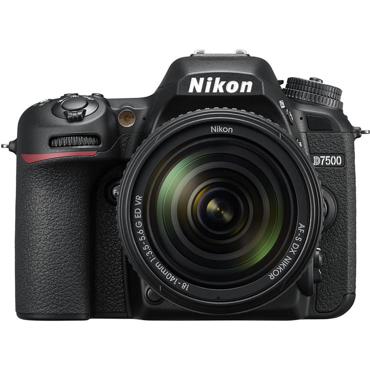 Nikon D7500 DSLR Camera with 18-140mm Lens - Hashtechguy