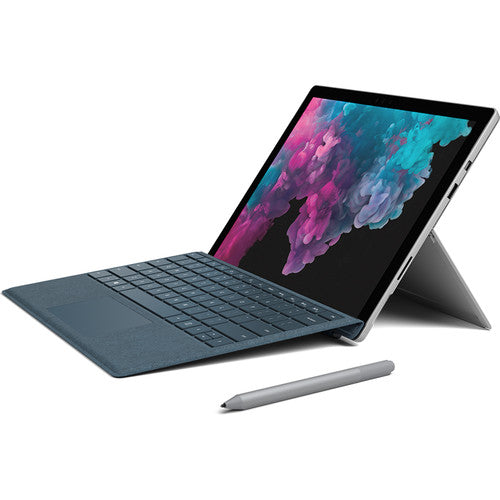 "Microsoft 12.3"" Multi-Touch Surface Pro 6 - Platinum (i5, 256GB SSD) - Hashtechguy"