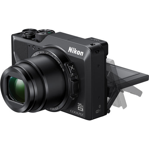 Nikon COOLPIX A1000 Digital Camera - Black - Hashtechguy