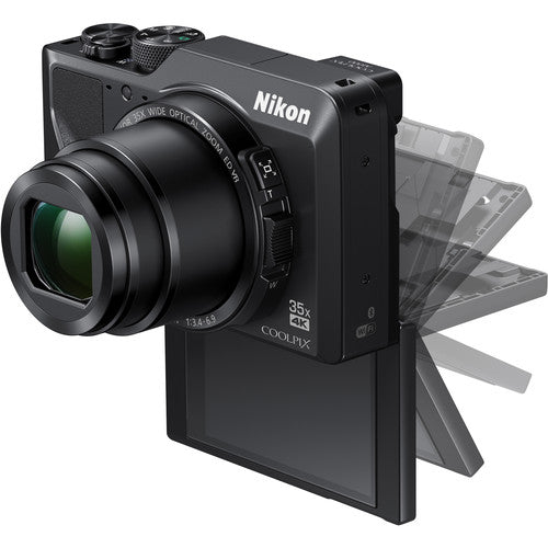 Nikon COOLPIX A1000 Digital Camera - Black