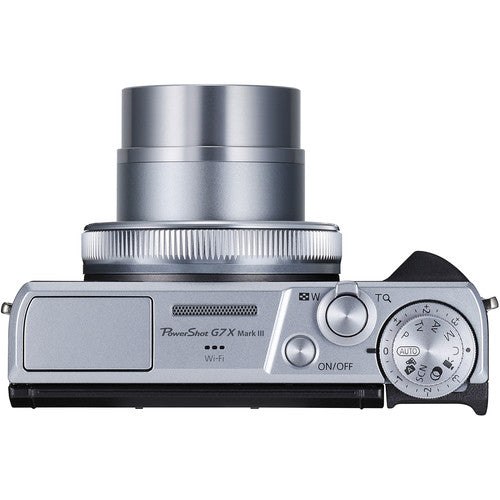 Canon PowerShot G7 X Mark III Digital Camera - Silver - Hashtechguy