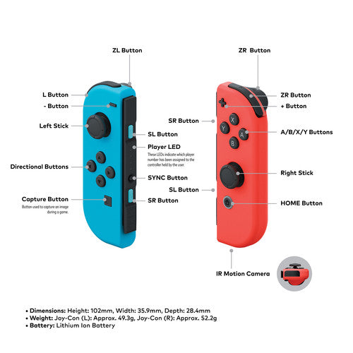 Nintendo Switch 2019 (Japan Version, Supports English, 110-240v, Supports All Regions Games) - Hashtechguy