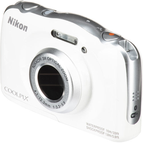 Nikon COOLPIX W150 Digital Camera - White - Hashtechguy