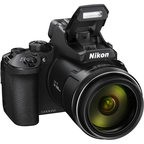 Nikon COOLPIX P950 Digital Camera - Black - Hashtechguy
