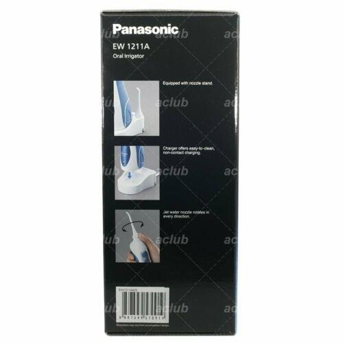 Panasonic EW1211A Rechargeable Oral Irrigator Dental Floss Water Jet Flosser - Hashtechguy