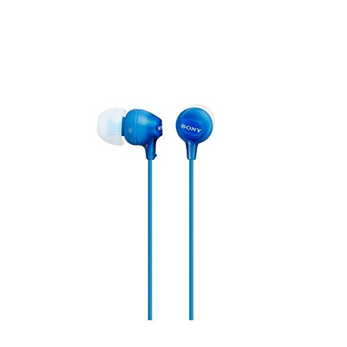 Sony Original In-Ear Headphones, Blue - Hashtechguy