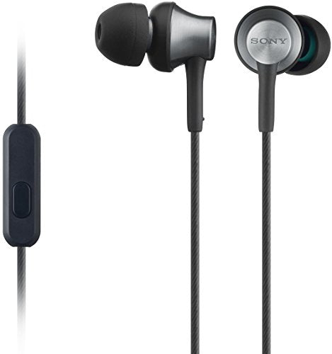 Sony MDREX650APT.CE7 Earphones with Brass Housing, Smartphone Mic and Control - Gold/black - Hashtechguy