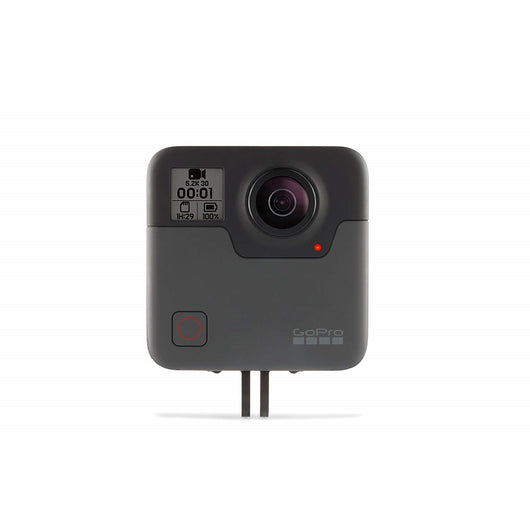 GoPro Fusion 360 Waterproof Digital VR Camera with Spherical 5.2K HD Video 18MP Photos - Hashtechguy