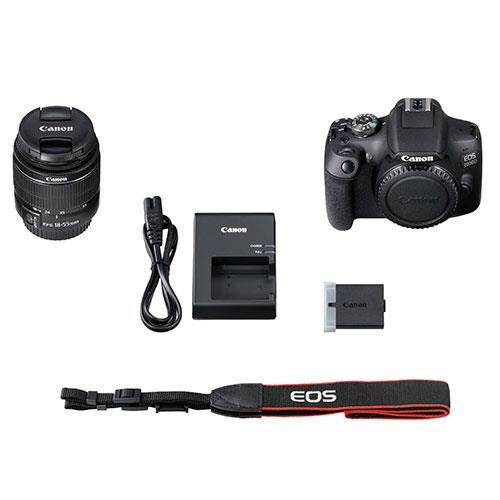 Canon EOS 2000D Digital SLR with EF-S 18-55mm DC III Lens - Hashtechguy