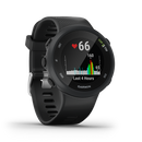 Garmin Forerunner 45 Black (010-02156-65) English Version - Asian Spec, Downloadable Maps - Hashtechguy