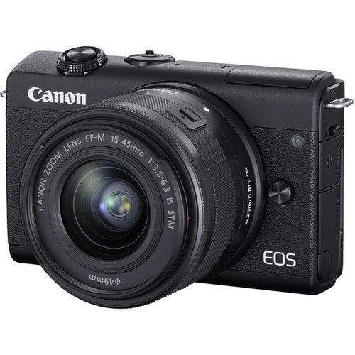 Canon EOS M200 Mirrorless Digital Camera with 15-45mm Lens - Hashtechguy