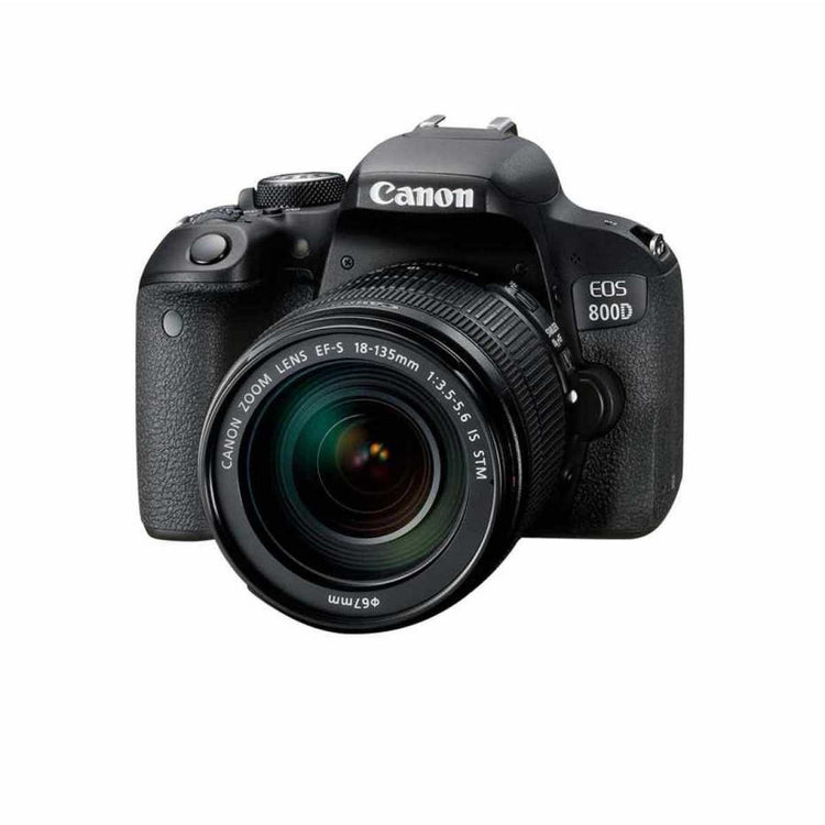 Canon EOS 800D kit with EF-S 18-135mm F/3.5-5.6 IS STM Lens - Hashtechguy