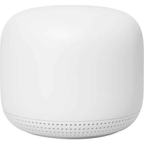Google Nest Wifi Add-on Point snow (1-Pack) (GA00667-US) - Hashtechguy