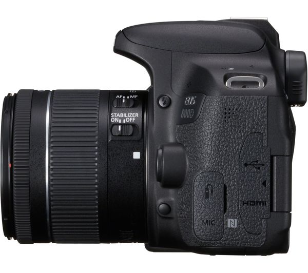 CANON EOS 800D DSLR Camera with EF-S 18-55mm IS STM Lens