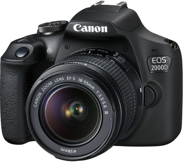 Canon EOS 2000D DSLR Camera with EF-S 18-55 mm f/3.5-5.6 IS II Lens - Hashtechguy