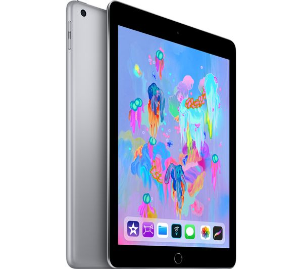 "Apple 2018 iPad 9.7"" (6th Generation) 128GB WiFi - Hashtechguy"