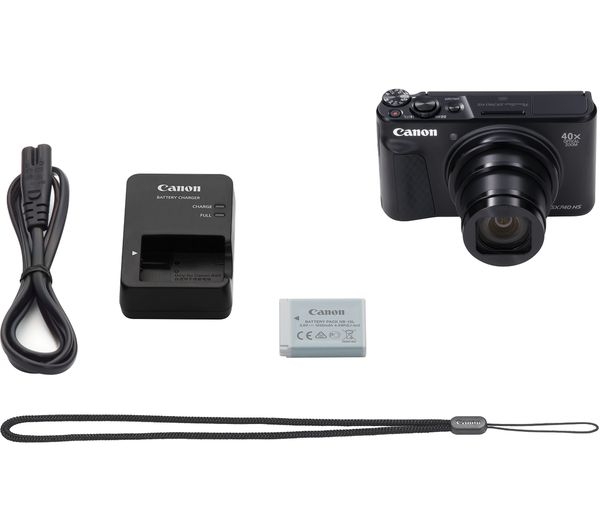 Canon PowerShot SX740 HS Digital Camera (Black) - Hashtechguy