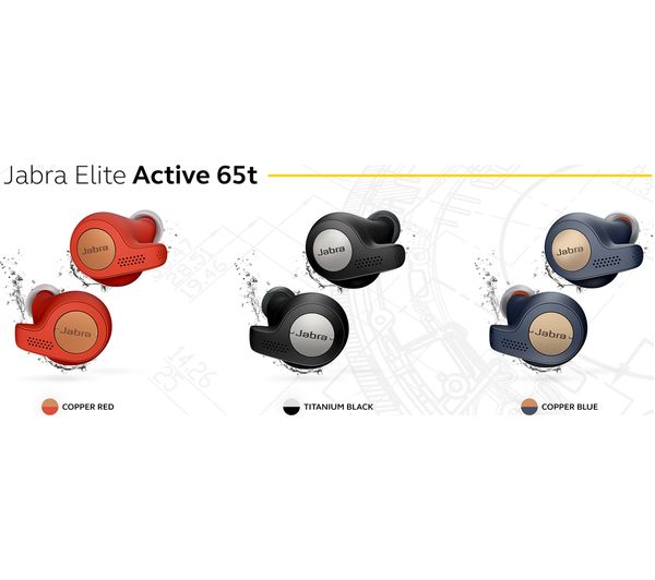 Jabra Elite Active 65t True Wireless Bluetooth Sports Earbuds And Char Hashtechguy