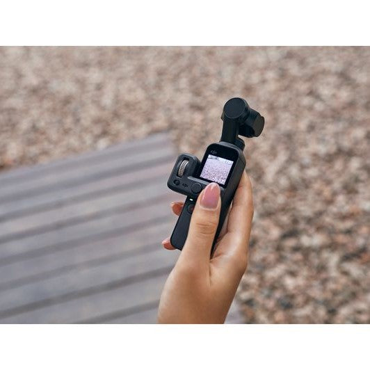 DJI Osmo Pocket 3-Axis Gimbal Stabiliser Handheld Camera - Black - Hashtechguy