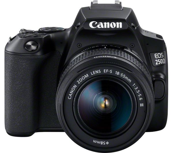 CANON EOS 250D DSLR Camera with EF-S 18-55 mm f/3.5-5.6 f/3.5-5.6 III DC Lens - Hashtechguy