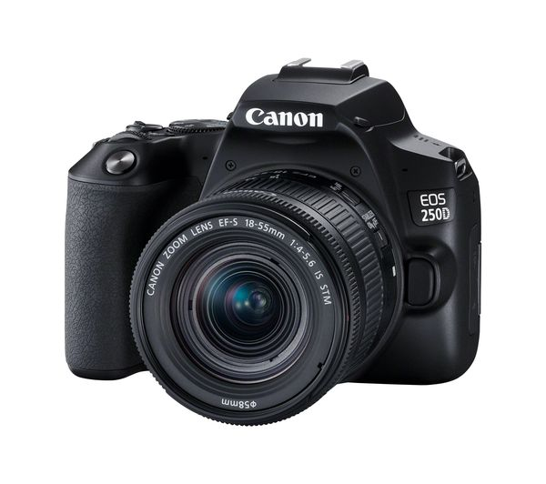 CANON EOS 250D DSLR Camera with EF-S 18-55 mm f/4.0 - f/5.6 IS STM Lens - Hashtechguy