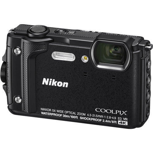 Nikon COOLPIX W300 Digital Camera - Black - Hashtechguy
