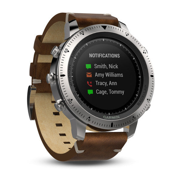 Garmin Fenix Chronos Steel Smart Watch (UK/EU Spec) - Hashtechguy