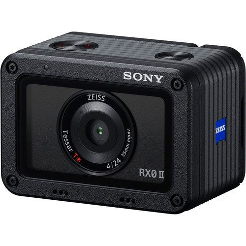 Sony Cyber-Shot DSC-RX0 II Camera With VCT-SGR1 Shooting Grip Kit (RX0M2G)
