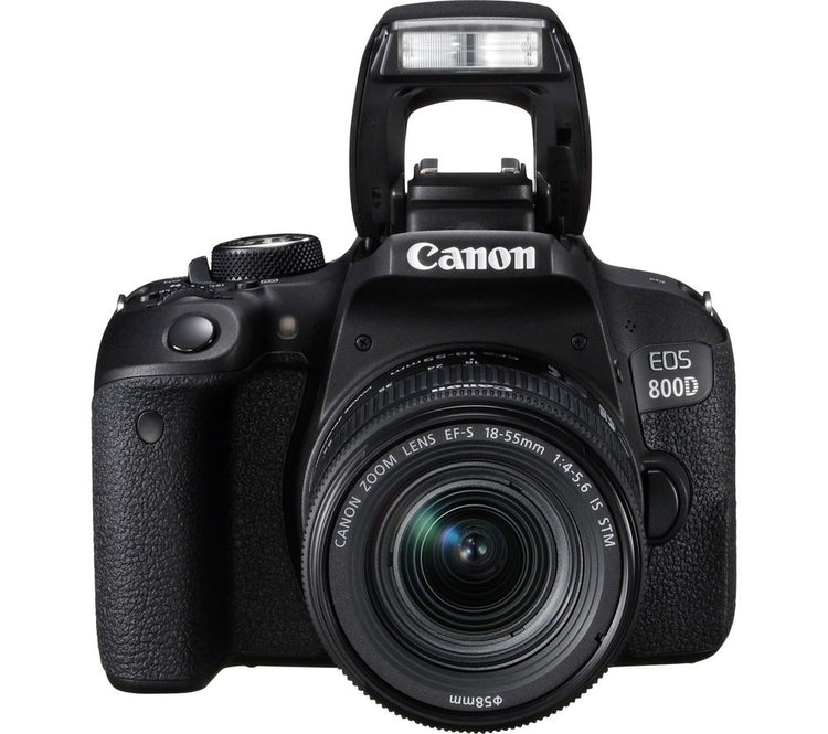 CANON EOS 800D DSLR Camera with EF-S 18-55mm IS STM Lens - Hashtechguy