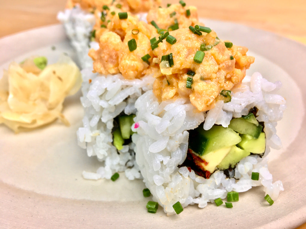 Spicy Lachsforelle Roll