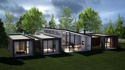 3 Bedroom Contemporary House Plan - CN294AE Photo