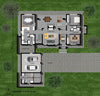 4 Bedroom Bali House Plan - B347AS