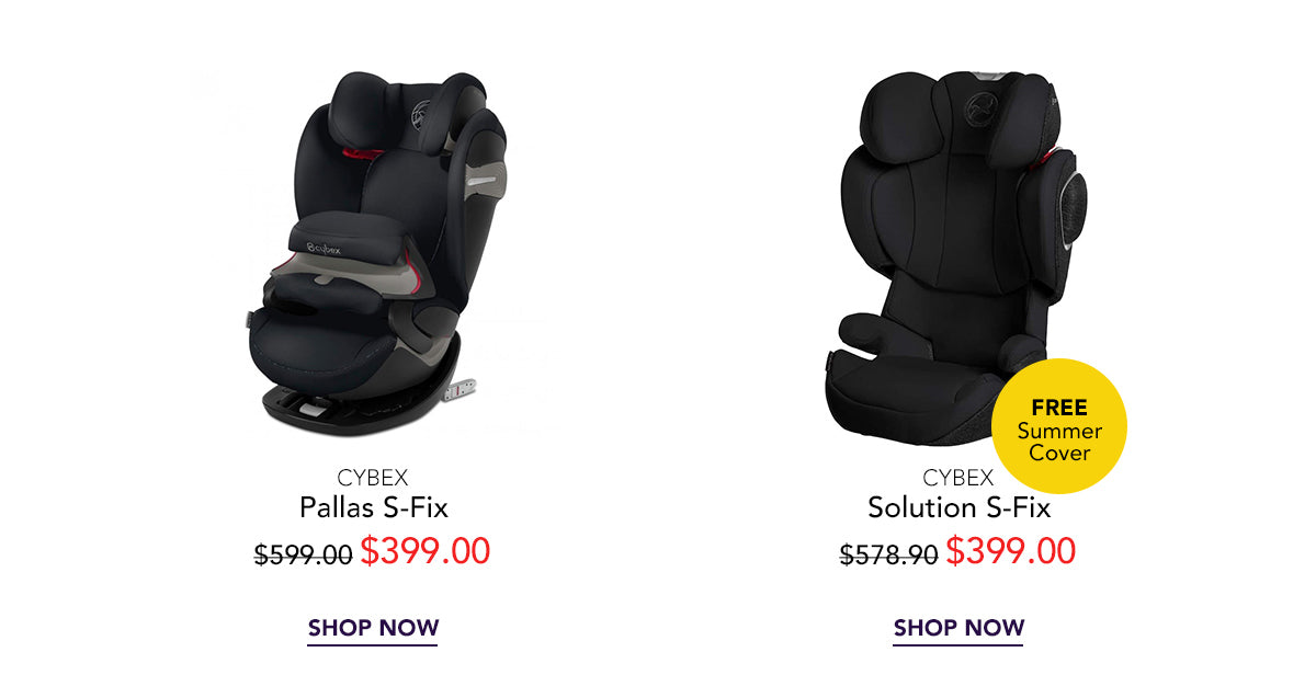 Cybex car seat sales and promotion