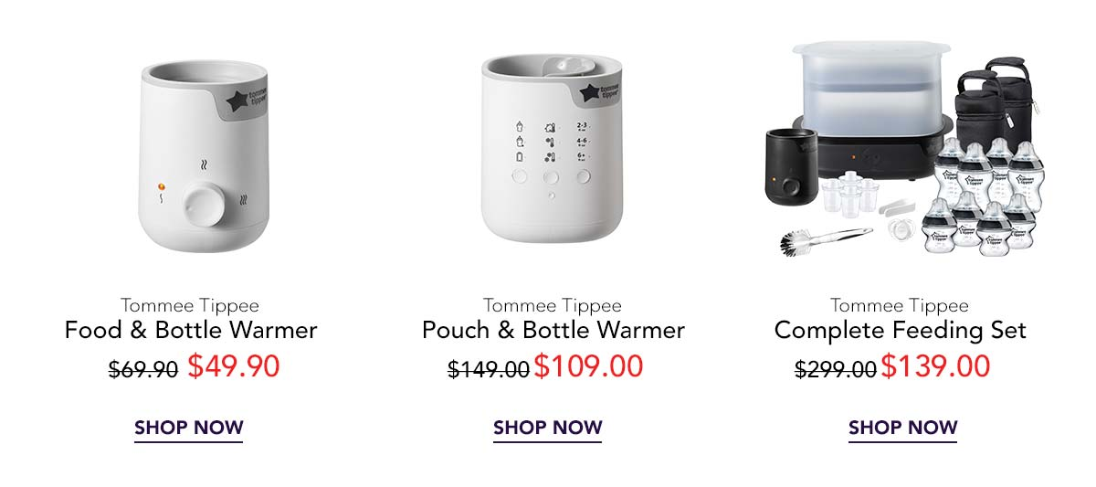 Tommee Tippee electricals Sale 1111 promotion