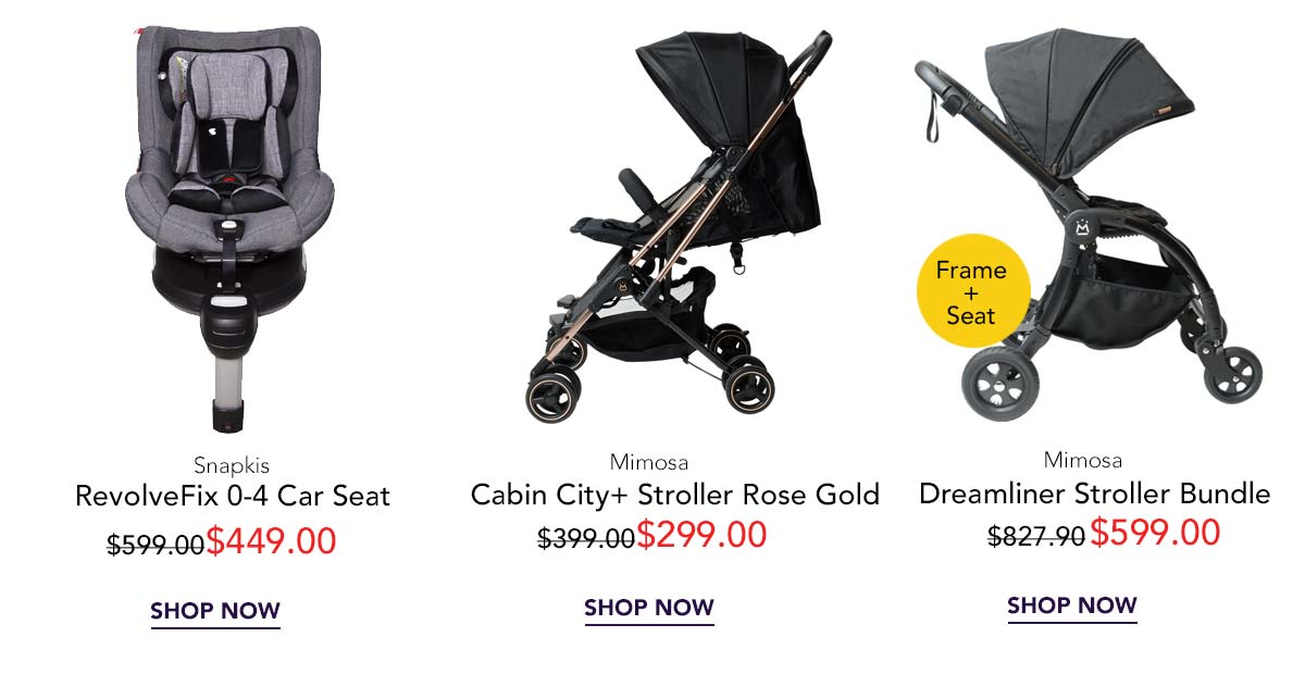Car seat and stroller sale