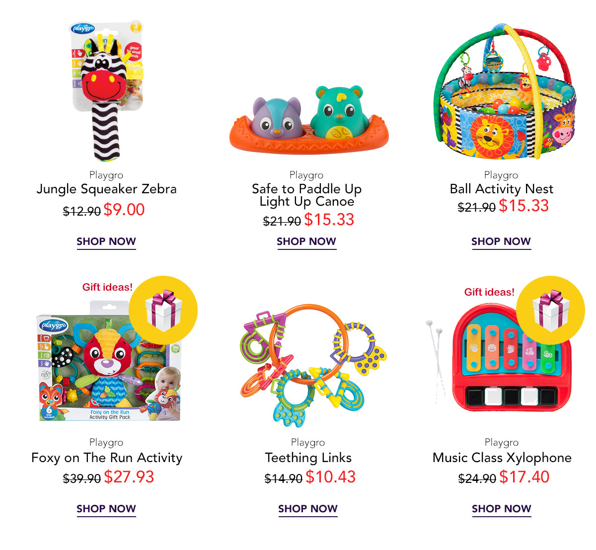 Baby toys for newborn and toddler on SALE