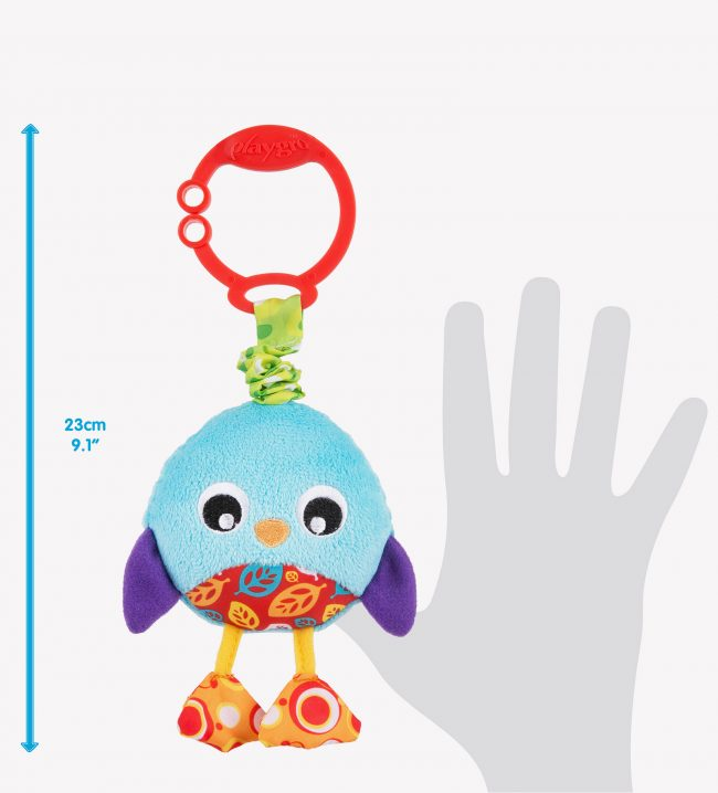 Playgro Wiggling Baby toy size chart