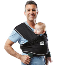 Load image into Gallery viewer, [Baby K'Tan] Active Baby Carrier - Black - Not Too Big