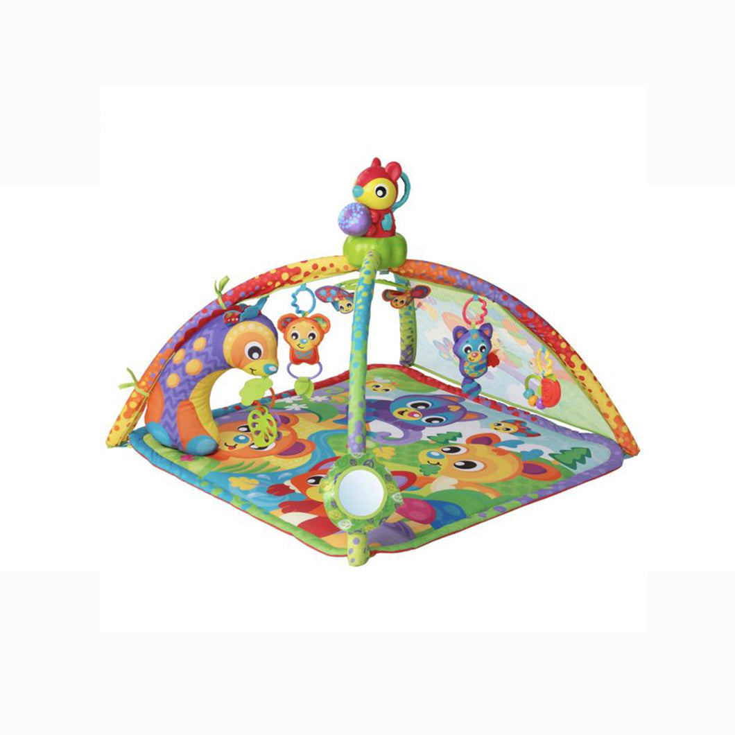 [Playgro] Woodlands Music And Lights Projector Gym (Age 0m+)