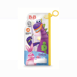 [B&B] Dibo Toothbrush & Toothpaste Set (Zipper Bag)