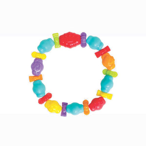 [Playgro] Jungle Friends Teething Ring (Age 3m+)