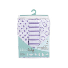 Load image into Gallery viewer, [Aden + Anais] Ideal Baby Swaddles 3PK - Cherub