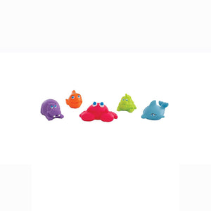 [Playgro] Under The Sea Squirtees (5PK) (Age 6m+)