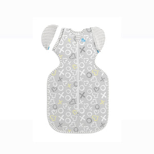 [Love To Dream] Swaddle UP Transition Bag Bamboo Lite (Stage 2) - White Print