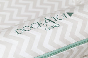 [DockATot] Silver Lining Grand Dock Spare Covers (baby 9-36 months) - Not Too Big